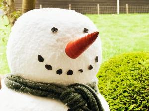 snowman props